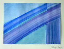 1974, Per hand, Erlangen, Aquarellmalerei