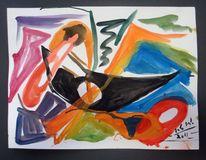 Abstrakt, Fantasiefarben, Formen, Farben