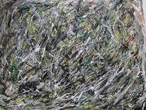 Wald, Abstrakt, Grün, Baum