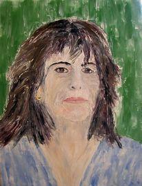 Menschen portrait gesicht, Malerei
