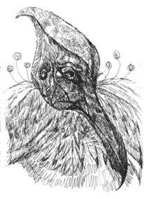 Menschen, Fantasie, Vogel, Zeichnungen