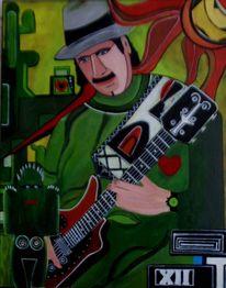 Mexiko, Musiker, Malerei, Figural