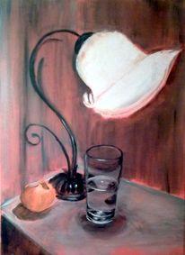Licht wärme wasserglas, Malerei, Licht