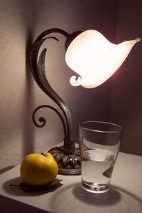 Glas, Licht, Quitten, Geborgenheit