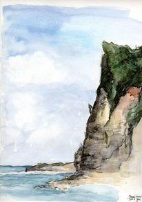 Aquarellmalerei, Türkiye, Türkei, Aquarell