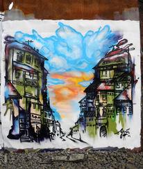 Aerosol, Sprühen, Graffiti, Lack