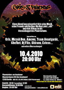 Avantgarde, Hiphop, Shiranu, Berlin