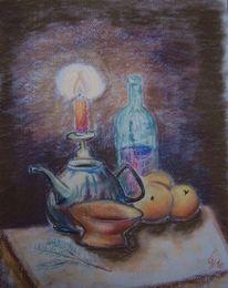 Pastellmalerei, Zeichnungen, Advent