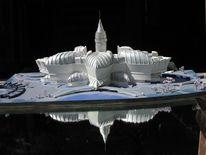 Phantastische architektur, Architektur wettbewerb, Moderne architektur, Moderner städtebau