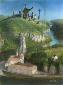 Donaudurchbruch, Kelheim, Sakralkunst, Kloster weltenburg