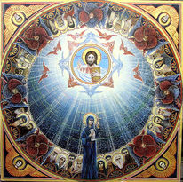 Christliche malerei, Ikonen, Kloster, Orthodoxie