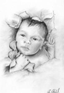 Baby, Malerei, Menschen