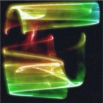 Pigmenttinte, Attraktor, Abstrakt, Digital