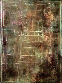 Acrylmalerei, Airbrush, Farben, Gemälde