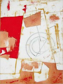 Acrylmalerei, Zeichnung, Komposition, Baumwolle