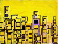 Gemälde, Baumwolle, Pigmente, Acrylmalerei