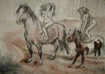 Akt freude pferd, Freude, Akt, Pferde