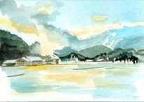 Jachenau, Mühle, Malerei
