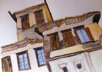 Dach, Alt, Holz, Haus