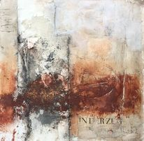 Mixed media, Blüttenpapier, Materialmix, Baumaterial