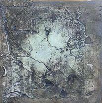 Kobalt, Marmormehl, Pigmente, Braun