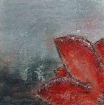 Grau, Rot schwarz, Struktur, Abstrakt