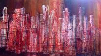 Informel, Abstrakt, Acrylmalerei, Pastelle