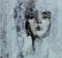 Blick, Arroganz, Zweites gesicht, Malerei