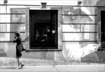 Fotografie, Wien, Schwarzweiß, Montage