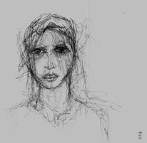 Augen, Gesicht, Blick, Zeichnungen