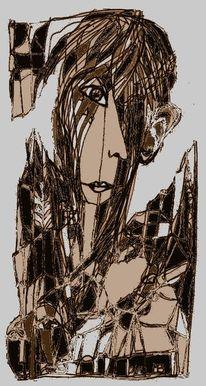 Gesicht, Aussage, Surreal, Zeichnungen