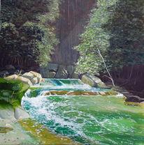 Schwarzwald, Sonnig, Wasser, Romantisch
