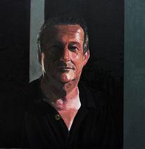 Portrait, Licht und schatten, Menschen, Malerei