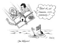 Merkel, Cartoon, Sarkozy, Griechenland
