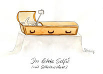 Karikatur, Cartoon, Selfie, Zeichnungen
