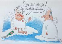 Boris, Karikatur, Jelzin, Cartoon