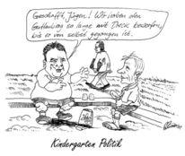 Guttenberg, Karikatur, Politik, Trittin