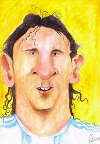 Argentinien, Karikatur, Worldcup, Argentinia