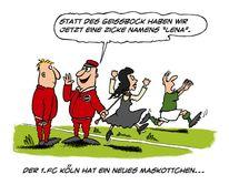 Meyer, Köln, Landrut, Karikatur