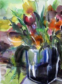 Malerei, Tulpen, Frühling