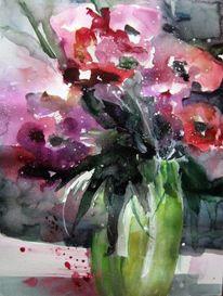 Malerei, Anemonen