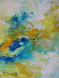 Malerei, Abstrakt, Mittag