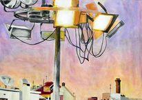 Henshouse, Mischtechnik, 2011, Malerei