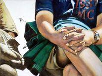 2011, Henshouse, Acrylmalerei, Malerei
