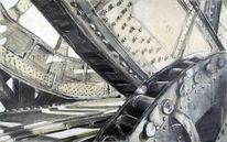 Henshouse, Stahlwerk, 2011, Malerei