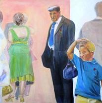 Acrylmalerei, 2011, Henshouse, Malerei