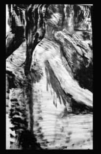 91x58, Portrait, Italien, Braun