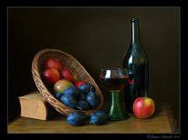 Apfel, Digital, Fotografie, Stillleben