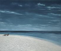 Landschaft, Meer, Wolken, Strand