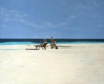 Strand, Himmel, Landschaft, Menschen